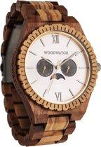 De officiële WoodWatch | Raw Mirage | Houten horloge heren