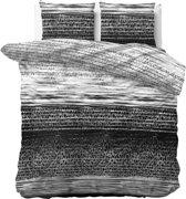 Sleeptime Panther Style - Dekbedovertrekset - Lits-Jumeaux - 240x200/220 + 2 kussenslopen 60x70 - Antraciet