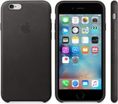 Apple Lederen Back Cover voor iPhone 6/6s - Zwart
