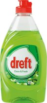 Dreft afwasmiddel clean & fresh Appel - 10 stuks