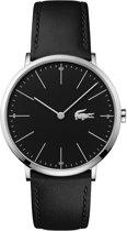 Lacoste LC2010873 Horloge - Leer - Zwart - Ø 40 mm