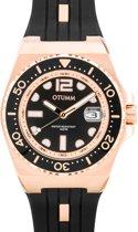 Diver Rose gold 40mm Color 01 Black