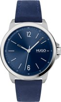 HU hrn stl lr/blauw LEAD 42mm