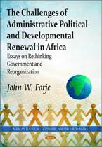 Challenges of Administrative Political & Developmental Renewal in Africa