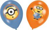 6 ballonnen Minions ™ Despicable Me ™ - Feestdecoratievoorwerp