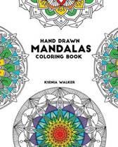 Hand Drawn Mandalas Coloring Book