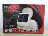 2x 10.1'' Touchscreen Digitaal Auto Achterstoel DVD Speler - Bruin
