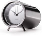 LEFF amsterdam Tube Clock - Steel - Staande klok - Staal - Design