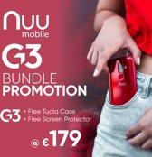 Nuu Mobile G3 + GRATIS Case + Screen Protector