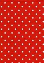 2LIF Dots Fire Tafelzeil - PVC -  140 x 170 cm