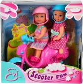 Evi Love  Scooter Fun met 2 Poppen