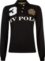 HV Polo Favouritas Eques LS - Polo Shirt - Black - M