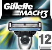 Gillette Mach3 - 12 Stuks - Scheermesjes
