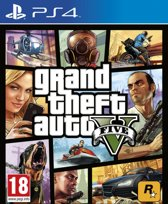 Grand Theft Auto V (GTA 5) - PS4 - Engelse Cover