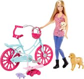 Barbie Draai- en Rij Puppies - Barbie pop