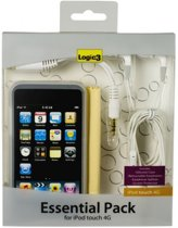 Logic3 IPT215 - Essential Pack voor Apple iPod Touch 4G - Transparant