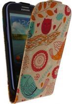 Mobilize Ultra Slim Flip Case Samsung Galaxy SIII i9300 Birds