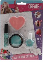 Create It! All In One Make-up Set 4-delig Mintgroen