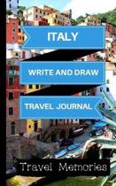 Italy Write and Draw Travel Journal