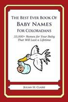 The Best Ever Book of Baby Names for Coloradans