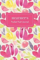 Heather's Pocket Posh Journal, Tulip