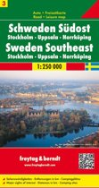 FB Zweden, blad 3 Zuidoost • Stockholm • Uppsala • Norrköping
