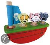Woezel & Pip Houten Schommelboot