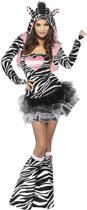 Volwassenenkostuum Sexy Zebra maat XS