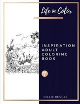 INSPIRATION ADULT COLORING BOOK (Book 7)