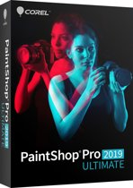 Corel PaintShop Pro 2019 Ultimate - Nederlands / Engels / Frans - Windows
