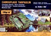 dekzeil camouflage - 2 x 3 meter