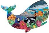 Mudpuppy 300 PC Shaped Puzzle - Ocean Life