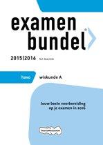 Examenbundel Havo; Wiskunde A; 2015/2016