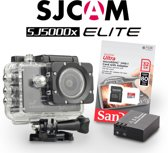 SJCAM SJ5000x Elite incl. extra accu en 32Gb Sandisk 80Mb/s MicroSD kaart