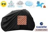 Fietshoes Met Insteekvak Polyester Geschikt Voor Gazelle Tour Populair T3 Omafiets 57cm -Zwart