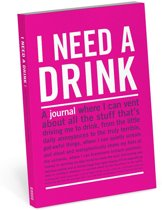 Knock Knock I Need a Drink Mini Inner-Truth Journal