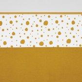 Meyco wieglaken Dots - 75x100 cm - okergeel