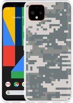 Google Pixel 4 Hoesje Army Digi Camouflage