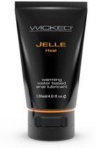 Wicked Sensual Care Jelle Heat Anal Gel Black 120ml