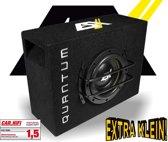 ESX Quantum QSB6 Zeer compacte Bassreflex Subwooferkist met 16,5cm Subwoofer Bass - 500 Watt