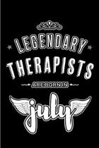 Legendary Therapists are born in July