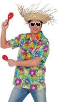 Party Hawaii Shirt Heren Groen - M