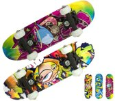 Skateboard klein met graffitiprint