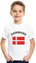 Denemarken t-shirt kinderen Xs (110-116)