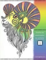 Dise os de Estampados de Cachemir Libro Para Colorear Para Adultos 1