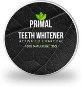 Primal | Activated Charcoal | 100% Natuurlijk tanden bleken | Witte schone tanden + Gratis Bamboe Tandenborstel