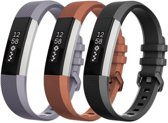 SVH Company Siliconen bandjes - Fitbit Alta (HR) - 3-pack - Large