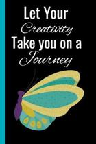 Let Your Creativity Take You on A Journey: Cute Nature-Inspired 2-in-1 Sketchbook and Story Paper To Draw in