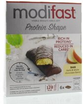 Modifast Protein Shape Reep Donkere en Witte Chocolade - 6 stuks