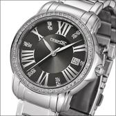 Firefox Firefox FFS1010-104, Ladies with zirconia, Journal of anthracite sunray Horloge 40mm
